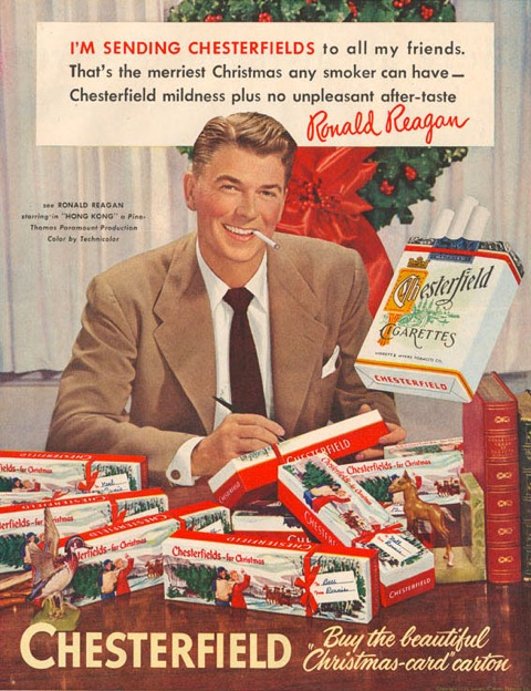 Give cigarettes for christmas