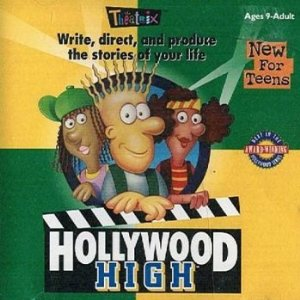 Hollywood High Software Box Cover