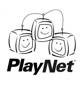 PlayNet Logo B&W