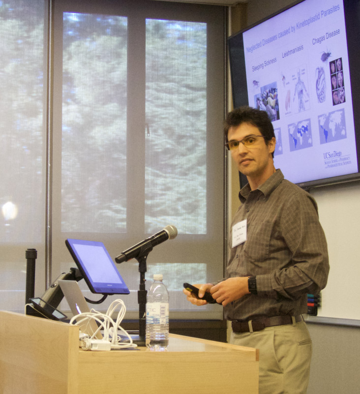 Jair Lage de Siqueira-Neto, Ph.D., Assistant Adjunct Professor Skaggs School of Pharmacy and Pharmaceutical Sciences at the University of California San Diego, presents at the Sage Conference held on September 19, 2015 at Stanford University.