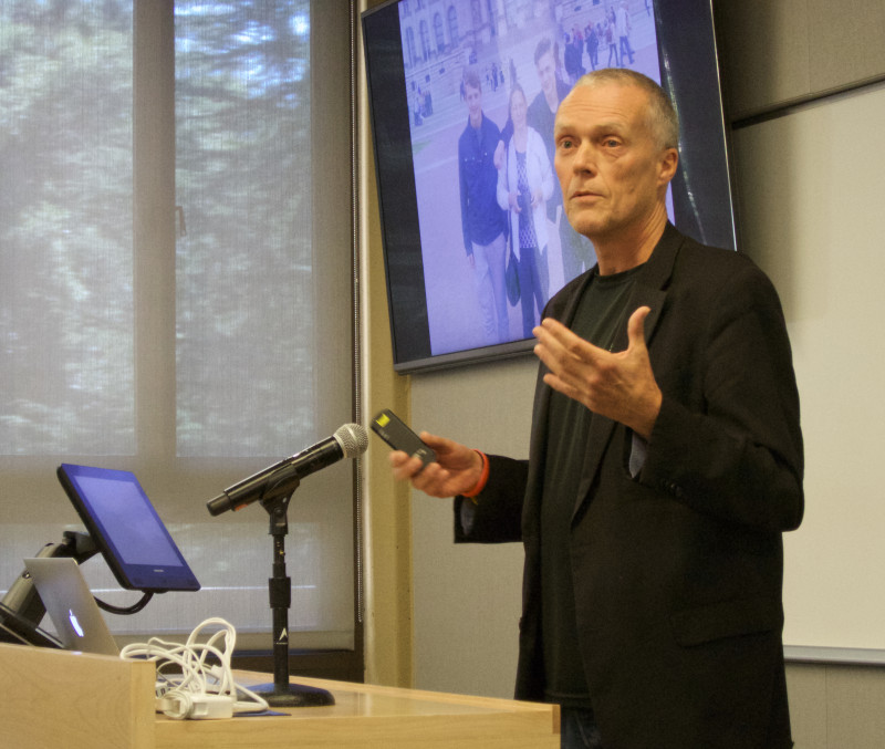 Peter Kapitein, Ph.D., co-founder Inspire2Live, presents at the Sage Conference held on September 19, 2015 at Stanford University.