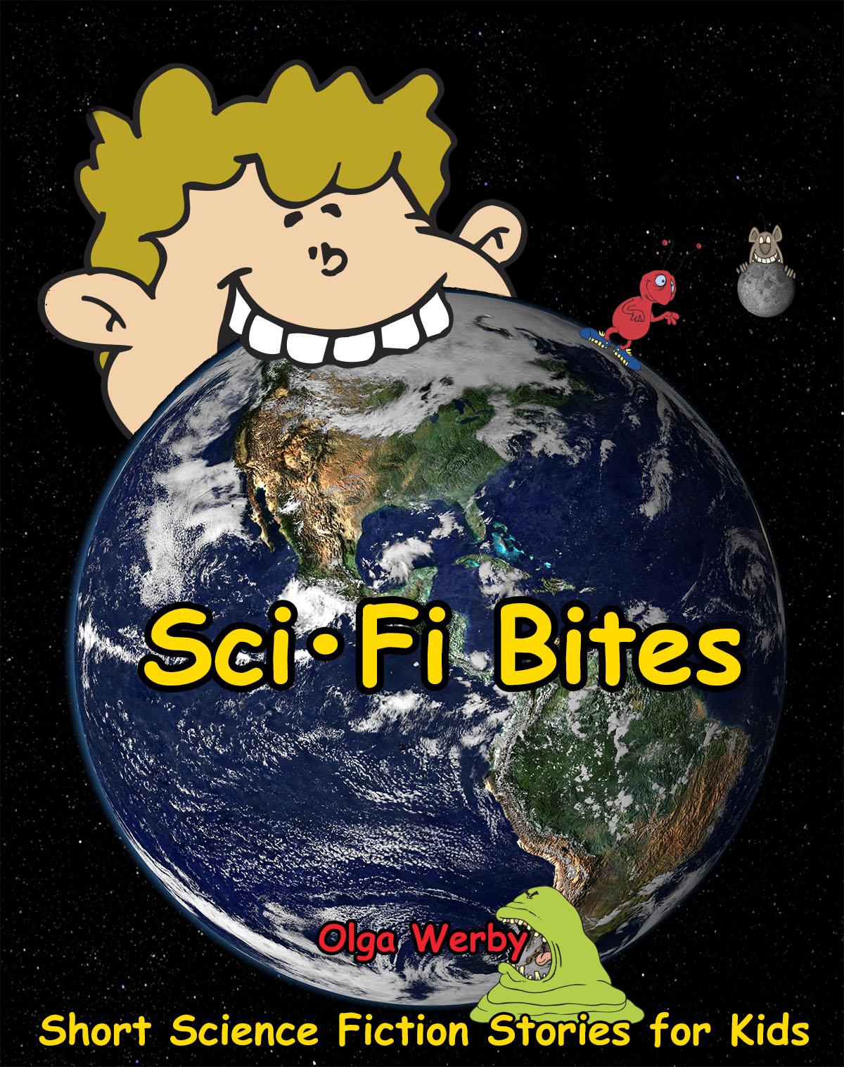 Sci-Fi Bites Cover Illustration