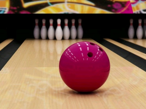 Pink Bowling Ball