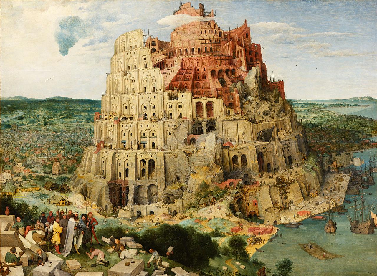 Pieter Bruegel the Elder, Tower of Babel