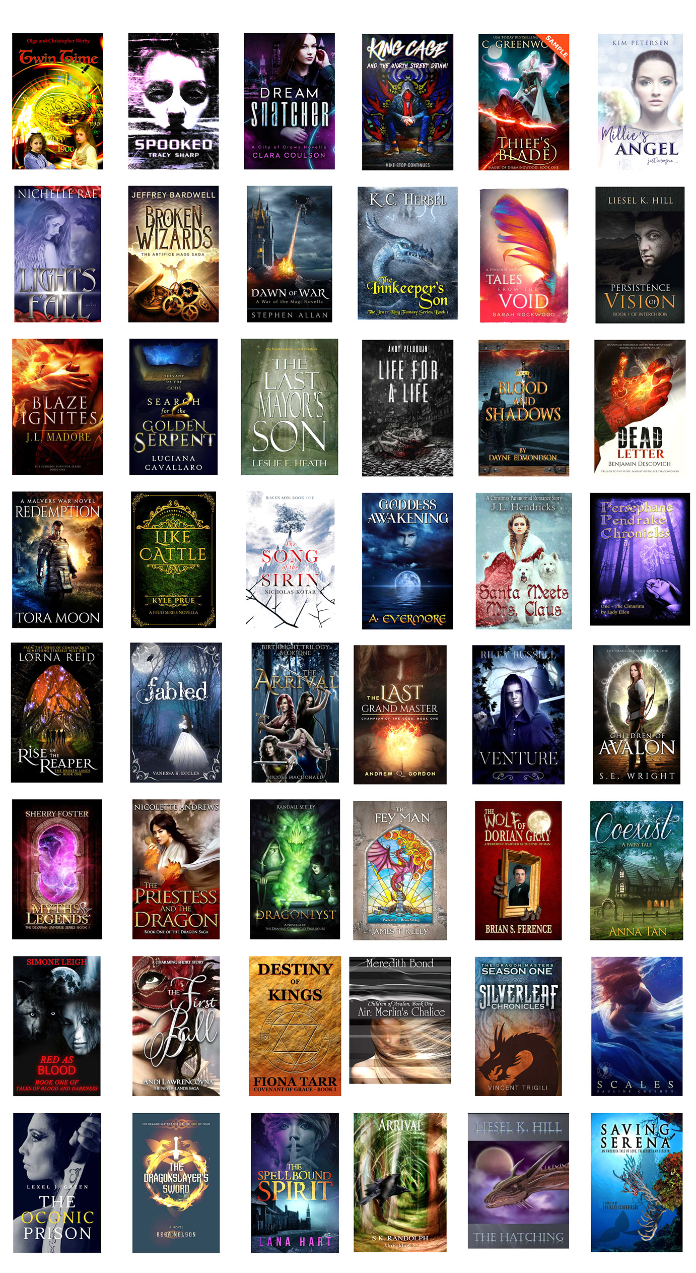 2017 Fantasy Book Promotion eBooks