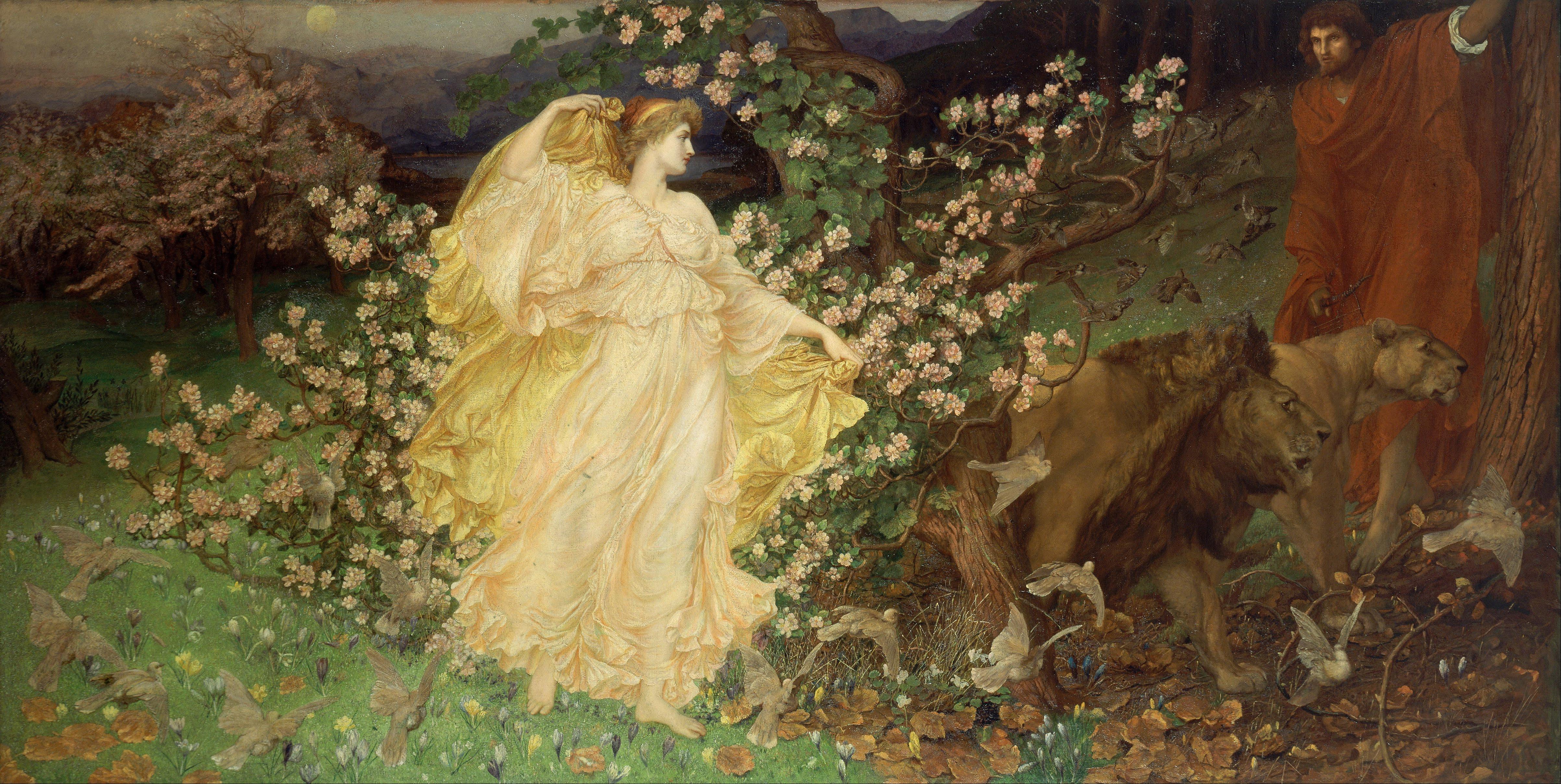 """William Blake Richmond """"Venus and Anchises"""""""