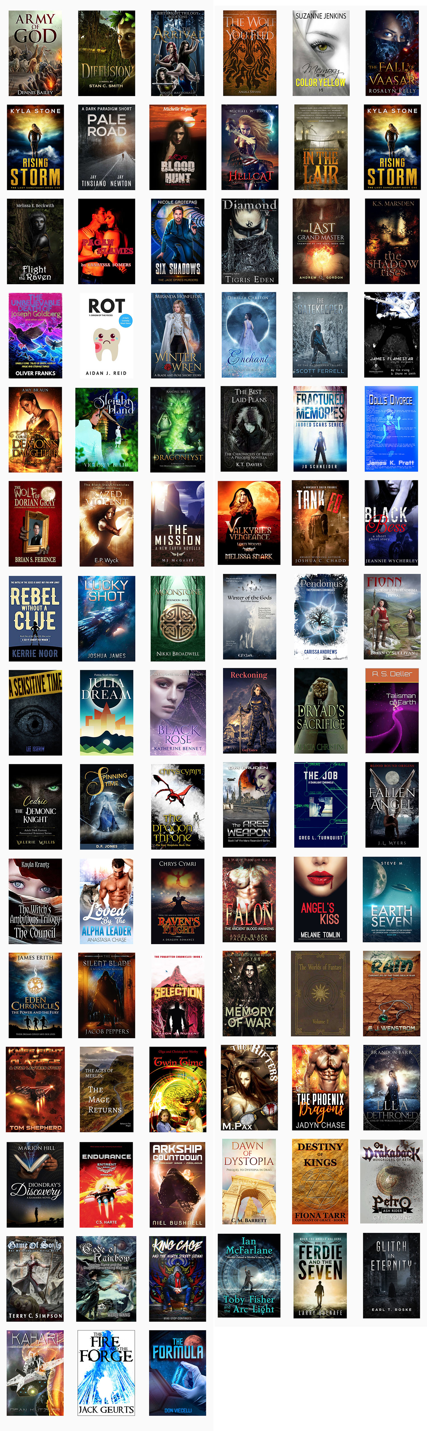 2018-05 New Fantasy Giveaway Books